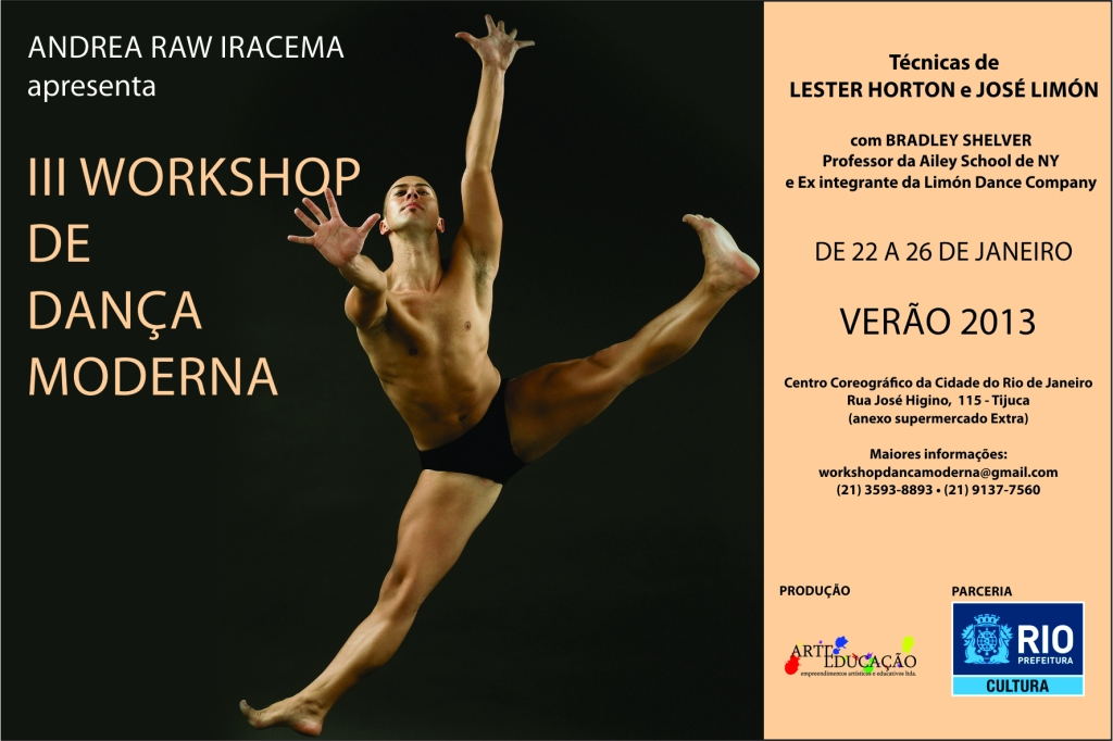 Workshop Dança Moderna 2013 Flyer_Frente1